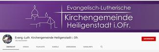 Kirchegemeinde Heiligenstadt auf Youtube